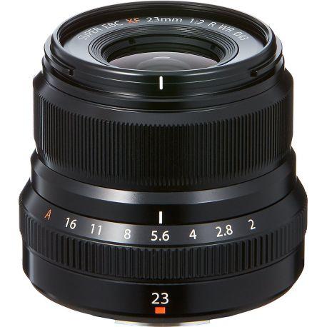 Obiettivo FUJINON XF 23mm F2 R WR Nero per Fuji Fujifilm