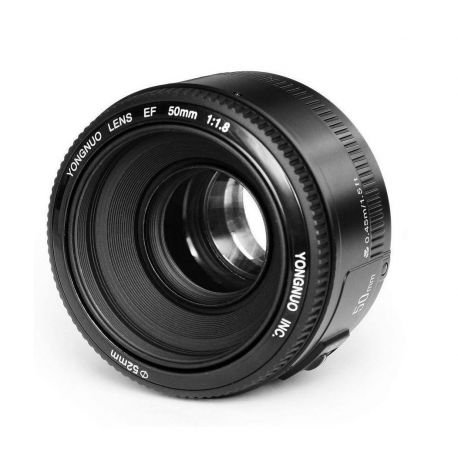 Obiettivo Yongnuo 50mm f/1.8 zoom fisso per Canon YN50mm F1.8C