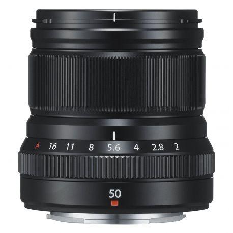 Obiettivo FUJINON XF 50mm F2 R WR nero per Fuji Fujifilm