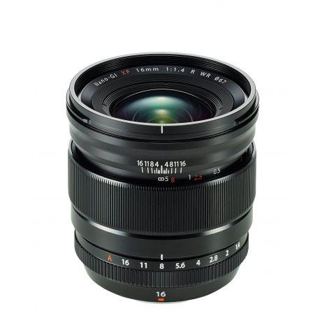 Obiettivo FUJINON XF16mm F1.4 R WR 16mm per Fuji Fujifilm Lens