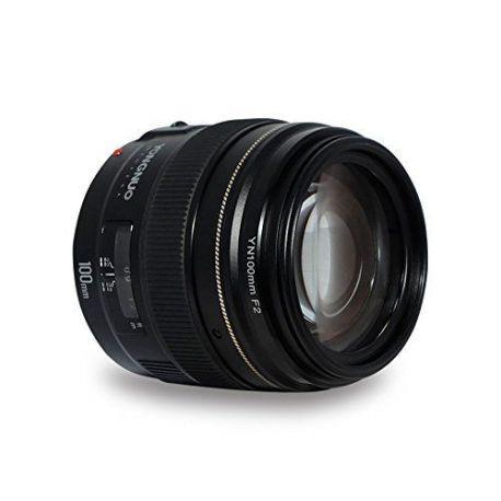 Obiettivo Yongnuo 100mm f/2 per Canon YN100mm