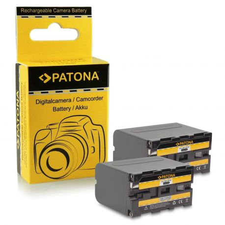 Patona Doppia Batteria Sony NP-F970 NP-F960