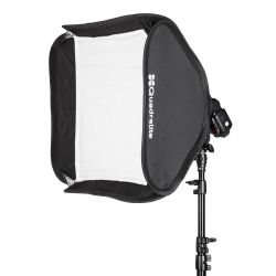 Quadralite Litebox 50x50cm softbox attacco Bowens
