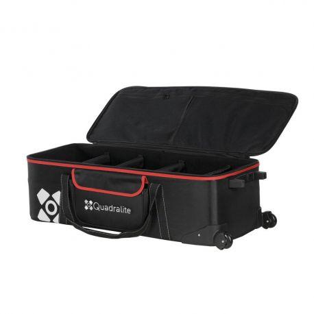 Quadralite Move trolley custodia valigia borsa da viaggio per flash da studio