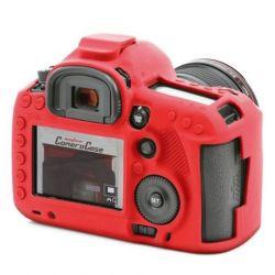 Custodia Protettiva in silicone per Canon 5D mark 3 EasyCover Rossa