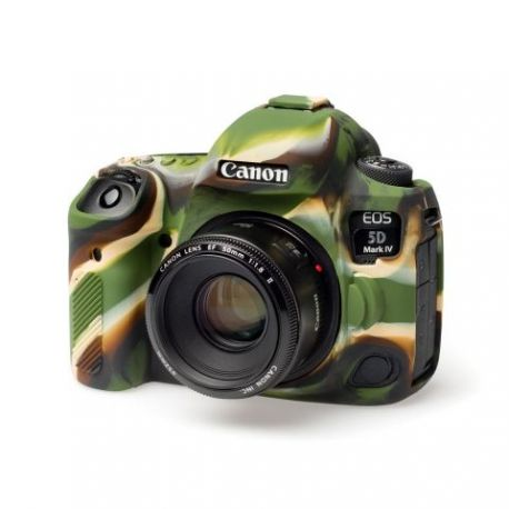 Custodia Protettiva in silicone per Canon 5D mark 4 EasyCover Camouflage