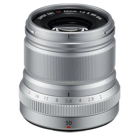 Obiettivo FUJINON XF 50mm F2 R WR argento silver per Fuji Fujifilm