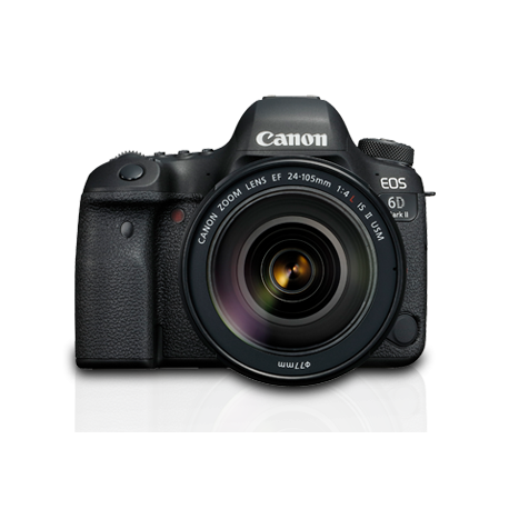 Fotocamera Canon EOS 6D Mark II Kit obiettivo 24-105mm f/4L IS II USM