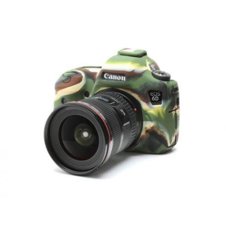 Custodia EasyCover in silicone morbido per Canon 6D Camouflage
