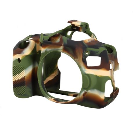 Camera case protettivo EasyCover custodia morbida in silicone per Canon 650D/700D/Rebel T4i/T5i Camouflage