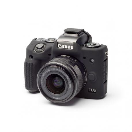 Custodia in silicone EasyCover camera case morbido per Canon M5 Nero