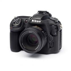 Camera case in silicone EasyCover custodia protettiva morbida per Nikon D500 Nero