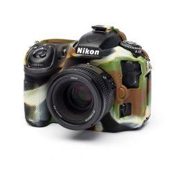 EasyCover camera case custodia protettiva in silicone morbido per Nikon D500 Camouflage