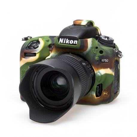 Custodia protettiva EasyCover soft camera case in silicone morbido per Nikon D750 Camouflage