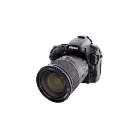 Custodia protezione soft EasyCover camera case morbido in silicone per Nikon D800 D800E Nero
