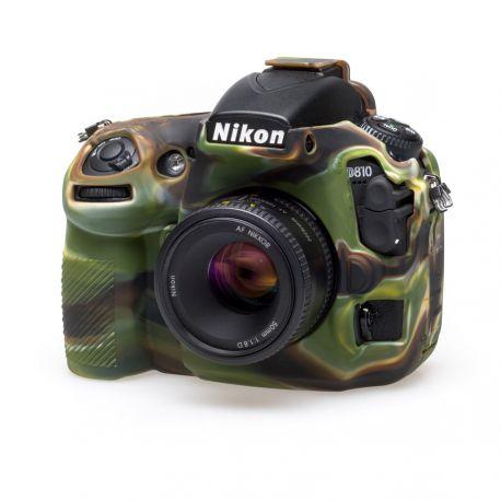 Camera case EasyCover custodia soft morbida in silicone protezione per Nikon D810 Camouflage