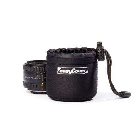 Custodia per obiettivo EasyCover protezione lens case x-small nero