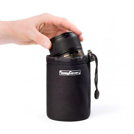Custodia per obiettivo protezione EasyCover lens case medium nero