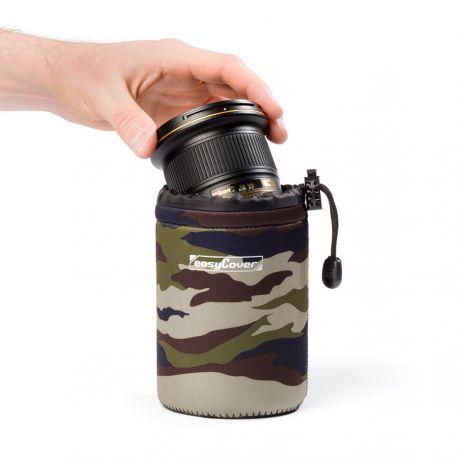 EasyCover lens case custodia protezione per obiettivo small camouflage