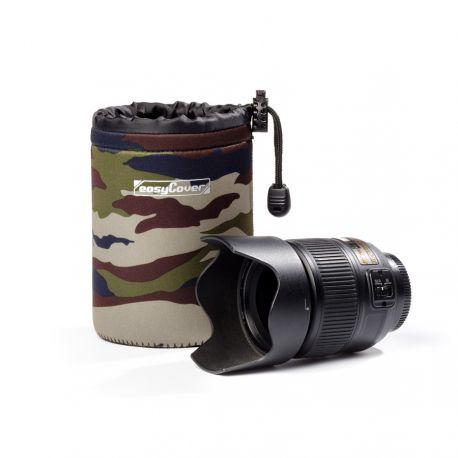 Protezione EasyCover custodia lens case per obiettivo large camouflage