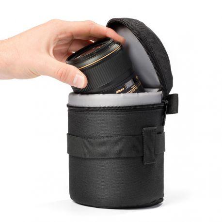 Borsa per obiettivo custodia protettiva EasyCover lens bag dimensioni 80x95mm nero