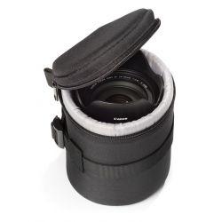 Borsa per obiettivo protezione custodia EasyCover lens bag dimensioni 85x130mm nero