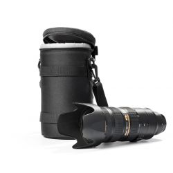 Lens bag borsa custodia protettiva per obiettivo EasyCover dimensioni 110x190mm nero