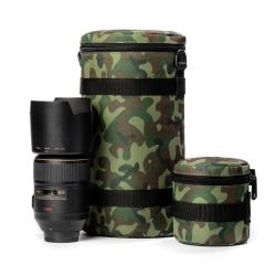 Borsa per obiettivo EasyCover custodia protettiva lens bag dimensioni 85x130mm camouflage