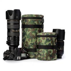 Protezione EasyCover custodia borsa per obiettivo lens bag dimensioni 110x190mm camouflage