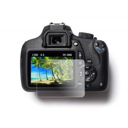 Tempered glass screen protector EasyCover protezione schermo in vetro temperato per Canon 80D 77D