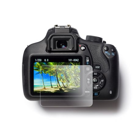 Protezione schermo in vetro temperato EasyCover tempered glass screen protector per Nikon D3200 D3300 D3400
