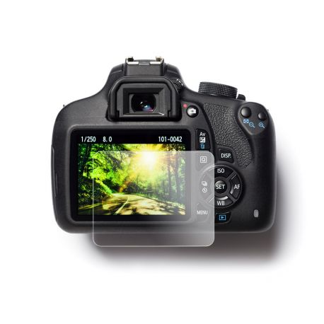 EasyCover protezione schermo in PET screen protector per Canon 70D