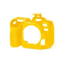 Custodia protettiva soft in silicone EasyCover camera case morbido per Nikon D7500 Giallo