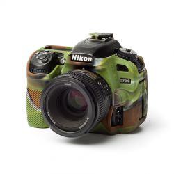 EasyCover custodia protettiva soft in silicone camera case morbido per Nikon D7500 Camouflage