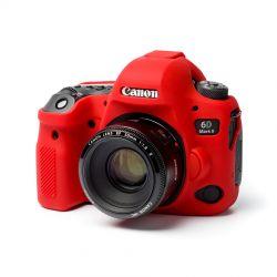 Protezione in silicone morbido EasyCover custodia camera case per Canon 6D Mark II Rosso