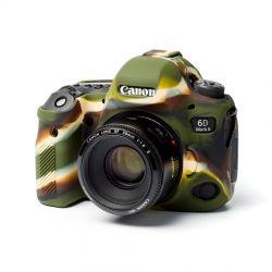 Camera case in silicone EasyCover custodia protettiva morbida per Canon 6D Mark II Camouflage