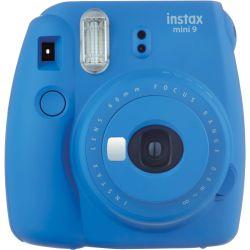 Fujifilm Instax Mini 9 Cobalt Blue Instant Camera Garanzia Italia 2 anni