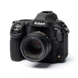 Custodia protezione soft in silicone morbido EasyCover camera case per Nikon D850 Nero