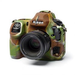 EasyCover protezione custodia soft in silicone morbido camera case per Nikon D850 Camouflage