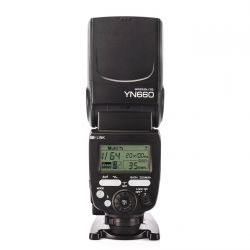 YONGNUO YN660 Flash Speedlite wireless per Canon e Nikon
