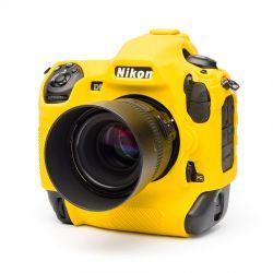 EasyCover case custodia protettiva in silicone per Nikon D5 Giallo