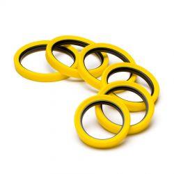 EasyCover anello paraurti per obiettivo in silicone lens rim protettivo 52mm giallo