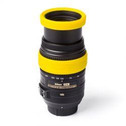 EasyCover anello paraurti in silicone per obiettivo lens rim protettivo 72mm giallo