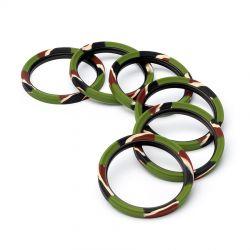 Lens rim EasyCover anello paraurti protettivo in silicone per obiettivo 72mm camouflage