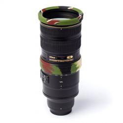 EasyCover lens rim per obiettivo anello paraurti protettivo in silicone 77mm camouflage