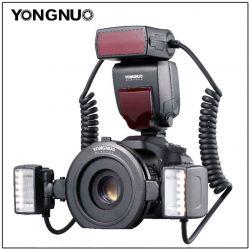YONGNUO YN-24EX TTL dual flash macro con anello per CANON