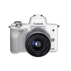 Fotocamera Canon EOS M50 Kit 15-45mm IS STM Bianco