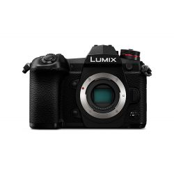 Fotocamera Panasonic Lumix DC-G9 Body solo corpo nero [MENU ENG]