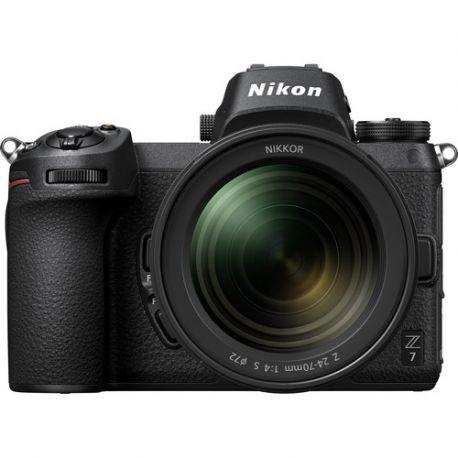 Fotocamera Nikon Z7 kit 24-70mm + adattatore FTZ Z-Mount