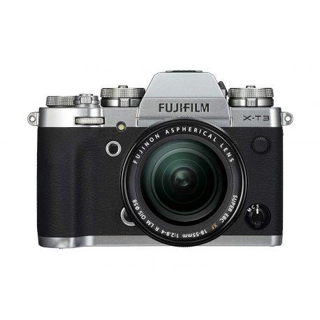 Fotocamera Fuji Fujifilm X-T3 Kit 18-55mm F2.8-4 R LM OIS argento silver